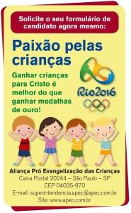Projeto Paixão pelas crianças